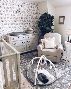 Favorite Nursery Glider - Lynzy & Co. Baby Bedroom, Baby Boy Rooms, Baby Boy Nurseries, Nursery Room, Kids Bedroom, Bedroom Ideas, Nursery Ideas, Nursery Decor, Kids Rooms