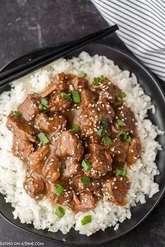 Crock Pot Beef Tips, Beef Tip Recipes, Crock Pot Slow Cooker, Crock Pot Cooking, Slow Cooker Recipes, Crockpot Recipes, Cooking Recipes, Healthy Recipes, Freezer Cooking