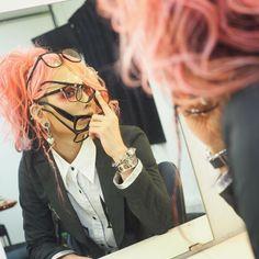 Koichi - Mejibray --- me trying on glasses