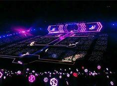 Bts And Exo, Exo K, Kyungsoo, Chanyeol, Exo For Life, Concert Stage Design, Feeling Broken, Exo Concert, Kpop Merch