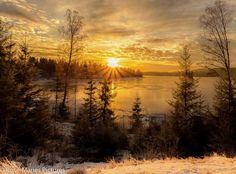 SUNRISE IN NORWEG