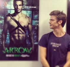 Grant Gustin #Arrow