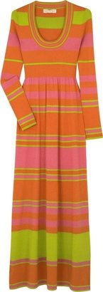 ShopStyle: Michael Kors Rainbow stripe long dress