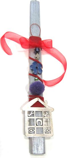 Easter candle-Handmade Easter by PlanetEarthHandmade on Etsy