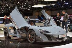 Monkey Motor: McLaren 675LT Salón de Ginebra 2015 (vídeo)