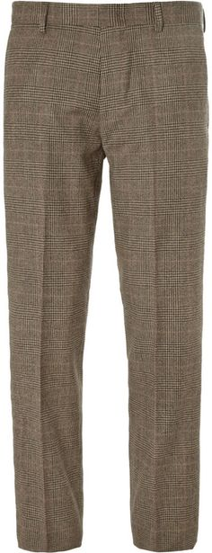 J.Crew Ludlow Slim-Fit Glen Plaid Wool-Blend Suit Trousers on shopstyle.com