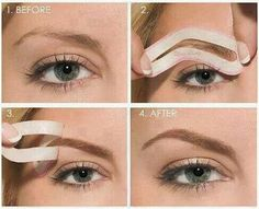 Makeup Tip Great for Eyebrow Shaping