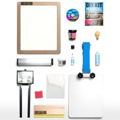 DIY Screen Printing Kit, $258, now featured on Fab.