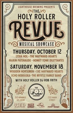 Vintage inspired poster for live music event featuring roots, country, folk performers Cool Posters, Music Posters, Heart Echo, Paul Weller, Honky Tonk, Party Poster, 5d Diamond Painting, Paint By Number, Embroidery Kits