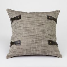 Buckled Up Pillow - Abingdon Duchess Collection from Dorm Redefined