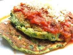 Cooking and recipes from a Nonna's Kitchen: Spinach and Ricotta Pancakes