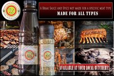 Nyama Braai Sauce & Spice - If your butcher do not stock it, get a new butcher :-) Salt, Spices, Spice, Salts