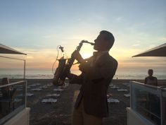 One of our special guests, Saxy mr. S