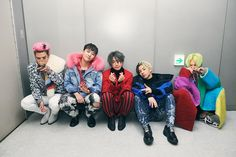 Big Bang backstage