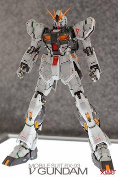 GUNDAM GUY: MG 1/100 Nu Gundam Ver.Ka - Painted Build