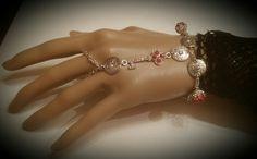 """My Heart's Secret"" hand bracelet"