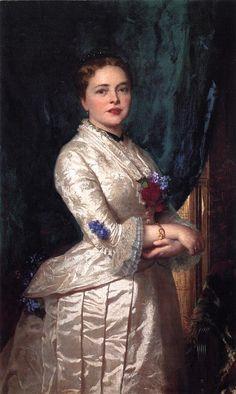 Portrait of a Woman by Eastman Johnson