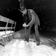 Let It Snow - Behind the Scenes Photos From the Set of 'It's a Wonderful Life', 1946 Jimmy Stewart on the set of It's a Wonderful Life
