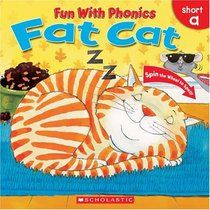 Fat Cat (Fun With Phonics) by Sue Graves-- the spinner wheel is perfect for initial phoneme manipulation!