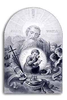 [Devoción a la divina Providencia. Estampa religiosa de finales del siglo XIX]