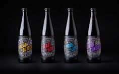 Robot Food - Vocation Brewery — World Packaging Design Society / 世界包裝設計社會 / Sociedad Mundial de Diseño de Empaques Beer Packaging, Brand Packaging, Design Packaging, Packaging Ideas, Design Da Garrafa, Branding Digital, Craft Beer Labels, Wine Labels, Bottle Labels