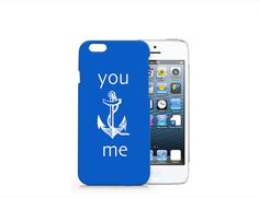 H146 Anchor you&me phone case for iphone 6/6plus from Emerishop by DaWanda.com
