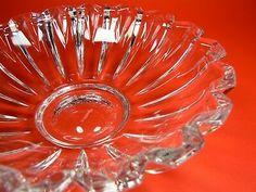 "NEW Villeroy & Boch Tondo 7.5"" Cut Clear Multi-sided Edge Crystal Bowl Discont'd    eBay Punch Bowls, Crystals, Ebay, Modern, Crystals Minerals, Crystal"