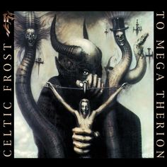 "Giger album cover for ""To Mega Therion"", Celtic Frost (1985)."