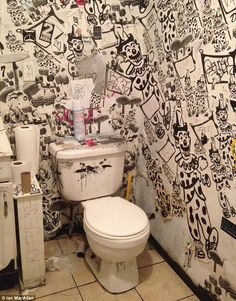 Bathroom Wall Graffiti graffiti'd public toilets (nyc) | favorite places & spaces