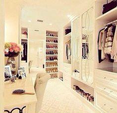 Superb Fabulous Walk In Wardrobe!