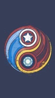 Captain America Tattoo, Iron Man Captain America, Avengers Tattoo, Marvel Tattoos, Panther, Marvel Movies In Order, We Heart It, Iron Man Art, Iron Man Wallpaper