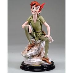 I pinned this figurine to give me something to look at if I have to build a Peter Pan.