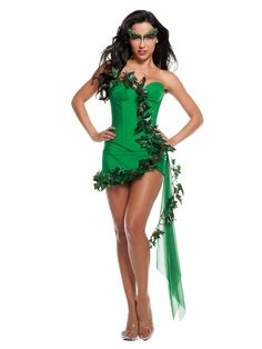 A Poison Ivy costume will help you transform into any version of this famous Batman villain. Choose from a sexy Poison Ivy costume and pair with a Harley Quinn costume for a superhero villain duo! Poison Ivy Halloween Costume, Poison Ivy Costumes, Sexy Halloween Costumes, Halloween Fancy Dress, Batman Costumes, Villain Costumes, Disney Costumes, Sexy Adult Costumes, Girl Costumes