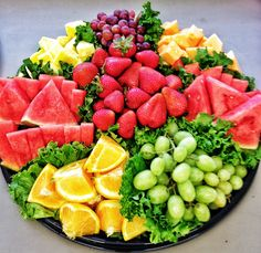 Mesmerizing Fruit Tray - Healthy + Beautiful