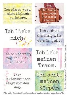 Affirmations about self care Affirmation Karten, Affirmation Cards, Positive Life, Positive Thoughts, Positive Quotes, Positive Feelings, Get To Know Me, Daily Affirmations, Self Esteem