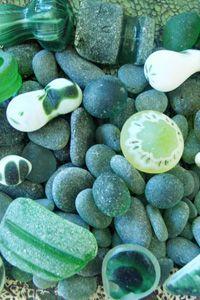 Green  Jade   Bella Mare Sea Glass