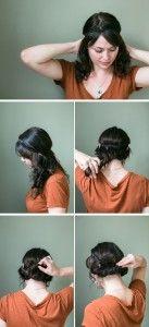 Headband tutorial using Kenra Volume Spray 25