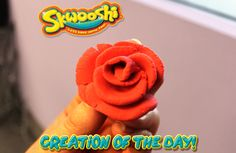 Skwooshi Creation of the Day #rose #art #mold #sculpture #sculpt #flowers   Join the fun on Facebook for exclusive giveaways https://www.facebook.com/Skwooshi