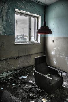 """sovietgoner: """" 'Sloth' Deserted security office. """""""