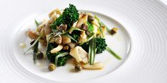This cuttlefish recipe is a unique dish by Nathan Outlaw, where cuttlefish is braised for a spectacular salad. Cuttlefish ink is used in the vinaigrette.