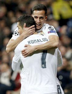 Lucas Vázquez & Cristiano Ronaldo