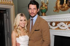 Date night: David Gandy and Mollie King make a stylish pair as they party with Daisy Lowe and Pixie Lott at fashion event - Celebrity News - Showbiz - London Evening Standard