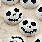 20 Resin Flatback Skull Cabochon for Halloween