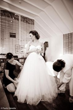 Vestido do atelier da Fafi
