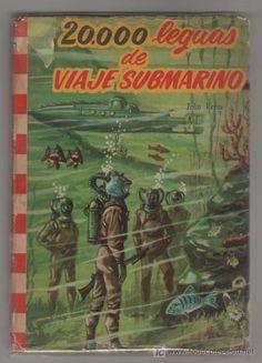Especial para mi bbmsk  una de las versiones antiguas de las novelas de JV.  20000 leguas de viaje submarino. Julio Verne
