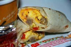Bdreakfast burrito (McDonald's)