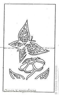 """Дорисовала!!! Довырезала!!! УРА!!!  Вот такие открыточки получились у меня, в """"порыве вдохновения""""....пригодятся и  на 23 февраля, и на 8 марта...  Нарисовались и вырезались на одном дыхании, под впечатлением новогодней открыточки с ёлочкой Зульфии Дадашовой ( http://stranamasterov.ru/node/268532 ) фото 6"""