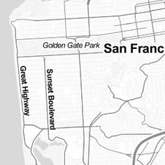 Interactive map - History of San Francisco Place Names