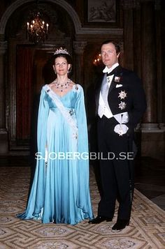 Queen Silvia wore this tiara for a dinner in 1981.