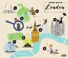 Disney Map of London